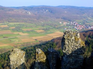 Walberla Joggingtour am 08.04.2015
